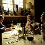 Dinner conversation • Tuscany Within The Frame 2011 • photo: Eli Reinholdtsen