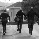 Running to catch the train • Italy Within The Frame 2010 • photo: Natalie Forchuk