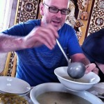 Jeffrey's breakfast soup • Mongolia Within The Frame 2012 • photo: Chelin Miller