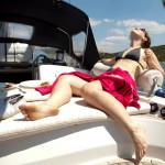 Relaxing on the sailboat • Croatia Within The Frame 2011 • photo: Jo Charron Portnoy