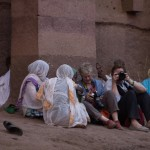 Photographing with the pilgrims • Lalibela Within The Frame 2014 • photo: Kathryn Mohrman