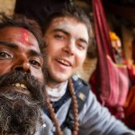 Chilling with a sadhu • Kathmandu Within The Frame 2012 • photo: Stephen Ravndal